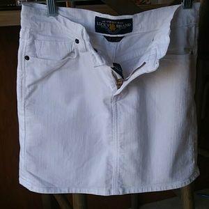 Lucky Brand White Skirt..